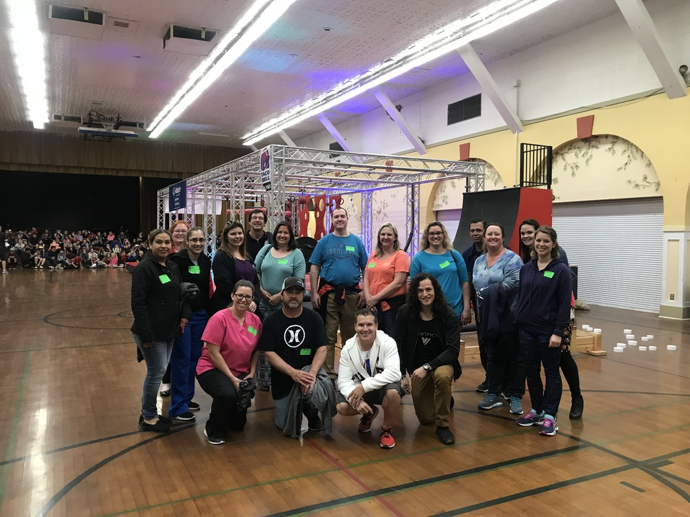American Ninja Parent Volunteers