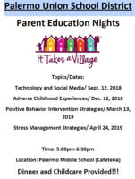 Parent Education Nights