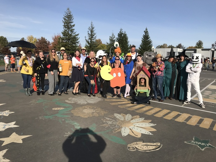 Staff Halloween Photo!